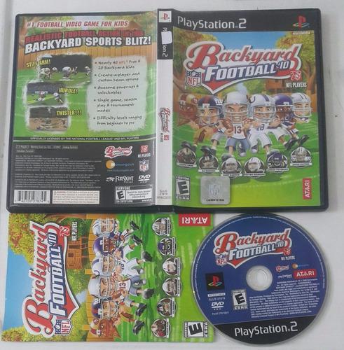 backyard football 10 / playstation 2 ps2