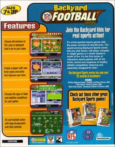backyard football 2002 - pc /mac