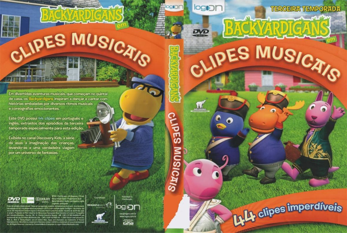 clipes musicais dos backyardigans