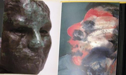 bacon and rodin in dialogue en ingles pintura escultura arte