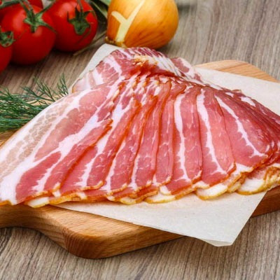 bacon artesanal fatiado 1kg ** compre 4 e o frete é gratis**