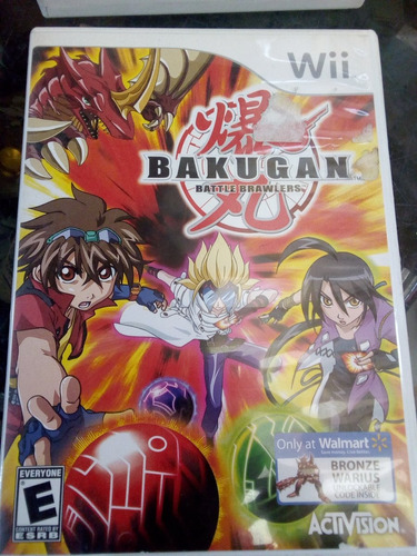 bacugan battle/ nintendo wii & wii u original