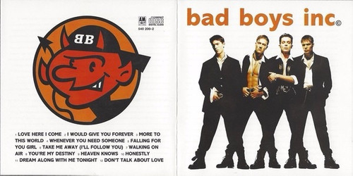 bad boys inc. - bad boys inc. cd importado 1994 boy band new