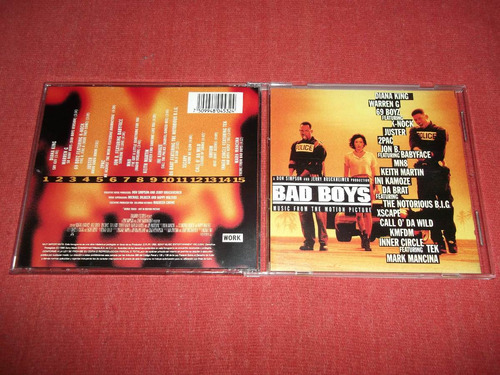 bad boys - soundtrack cd nac ed 1995 mdisk