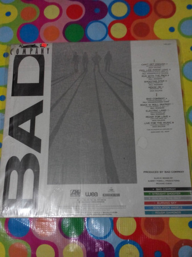 bad company lp 10 from 6. 1974