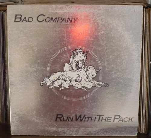 bad company lp run with the pack