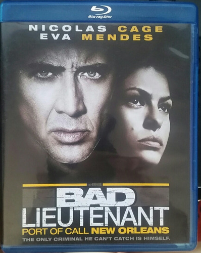 bad lieutenant   blu ray
