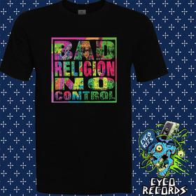 Bad Religion - No Control - Hardcore Punk - Polera- Cyco Rec