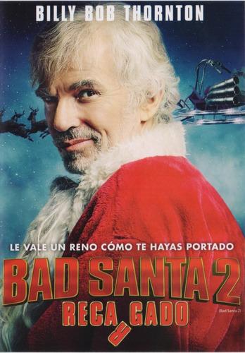 bad santa 2 dos recargado billy bob thornton pelicula dvd