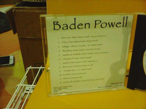 baden powell - cd excelente