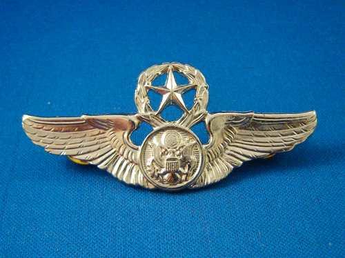badge usa de chefe de tripulantes da usaf