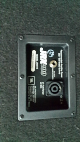 bafle 15  jbl jxr100 usado muy buen estado made in usa