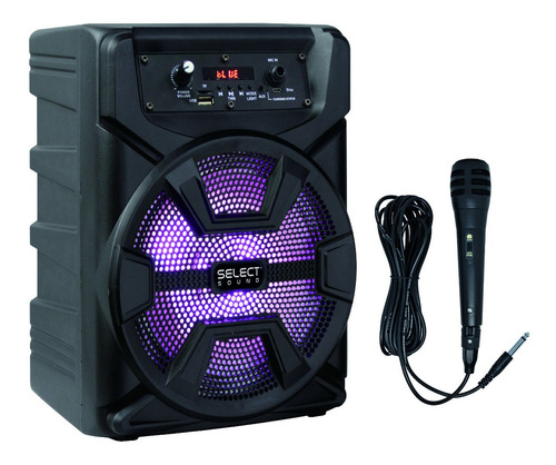 bafle amplificado 8  select sound hero tws bluetooth 2500w