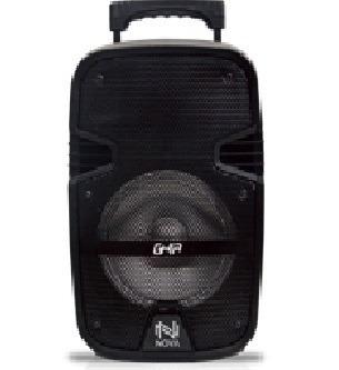 bafle amplificado bocina 8 pulg ghia-nova recargable 1800mah
