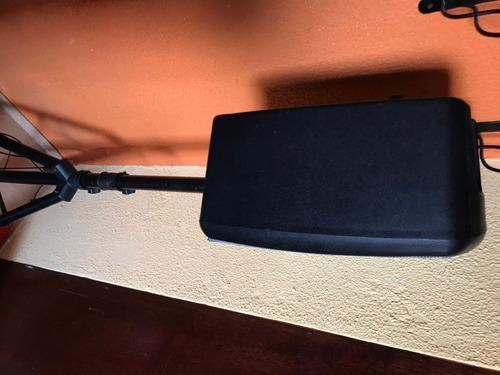 bafle amplificado káiser 3200w, recargable inalámbrico