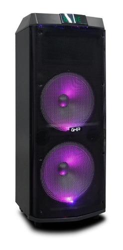 bafle amplificado recargable bocina doble de 12 pulg 24000w