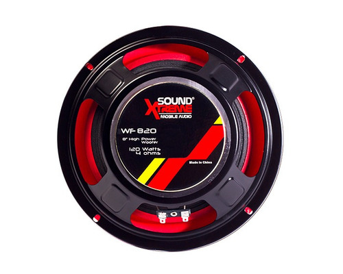 bafle baulero automotor con woofer 8 120w bocina tweeter