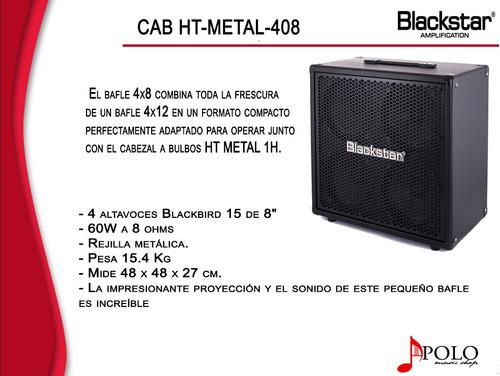 bafle blackstar p/guitarra ht-metal-408