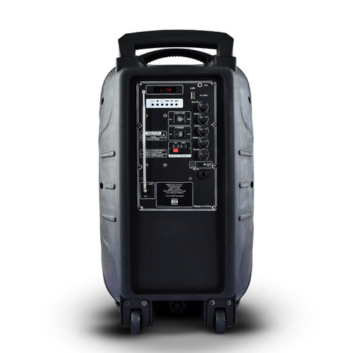 bafle bocina recargable 12 pulgadas bluetooth usb 100 watts
