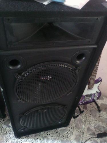 bafle concert 1200 watt made in usa bumper 510 2x15