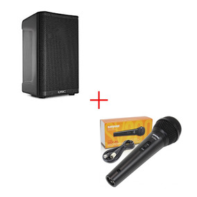 Oferta Bafle Cp12 Cp Serie Activa Qsc Microfono Gratis Msi