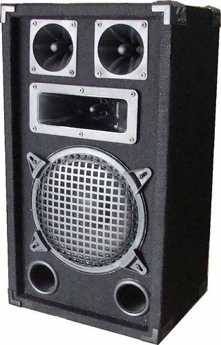 bafle de 8 c/ amplificador entrada para la compu y micrófono