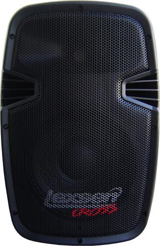 bafle lexsen crosslp 8 plastico inyectado 125w caja acustica