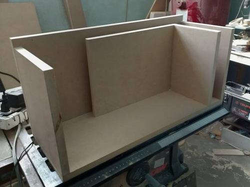 bafle para auto porteado 10 pulgadas mdf de 18 mm.