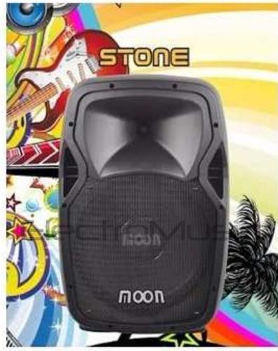 bafle  parlante potenciado activo 15  moon linea stone 1000w