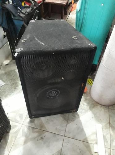 bafle pasivo profesional12, 8 ohms 3 vias mega power bb-2012