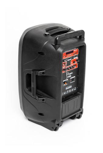 bafle potenciado bateria recargable parquer 12 usb bluetooth