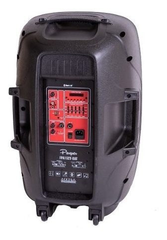 bafle potenciado bateria recargable parquer 15 usb bluetooth
