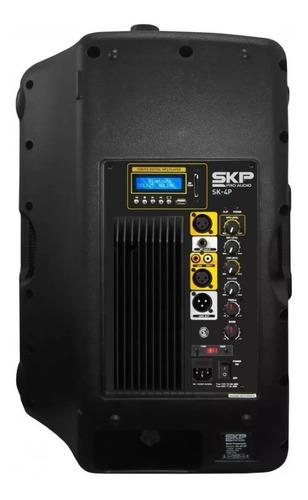 bafle potenciado skp sk-4p bt 15 pulgadas 250 watts rms usb