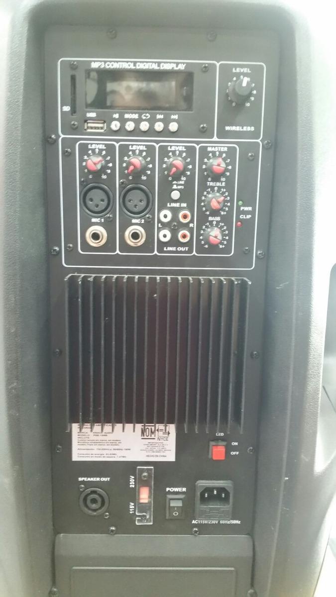 krack audio psb-15wa