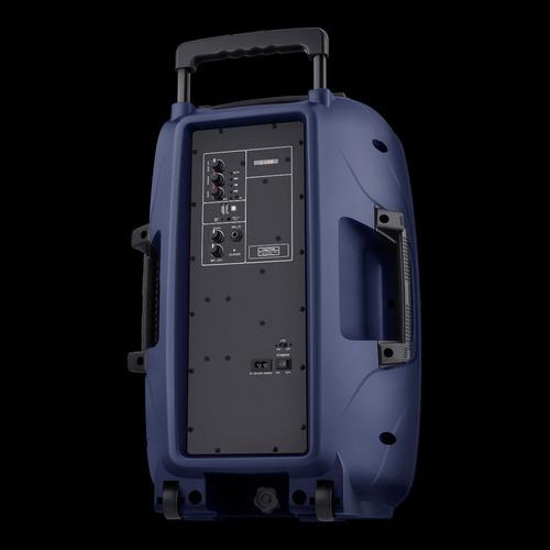 bafle recargable steren incluye microfono y tripie bt 1520 m