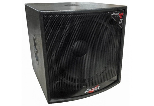 bafle subwoofer apogee a18 - 250 watts - caja low graves