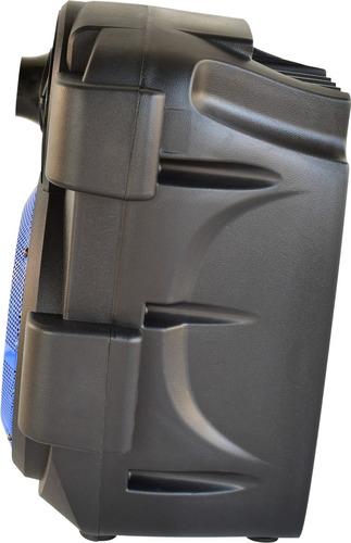 bafles amplificados 6 pulgadas bluetooth portatil necnon 06