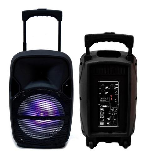 bafles amplificados bocina 8 pulgadas bluetooth extra bass