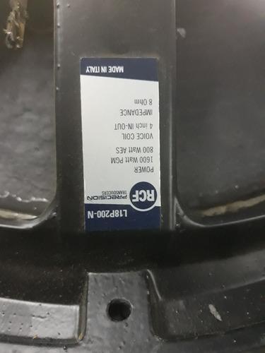 bafles doble 18 rcf  l18p200-n. precio x unidad. permuto!