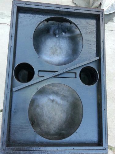 bafles originales frontales dobles de 18 gaussiny