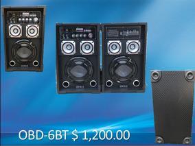 Bafles (par) Orbix 2600 Watts Bluetooth Usb/sd/fm