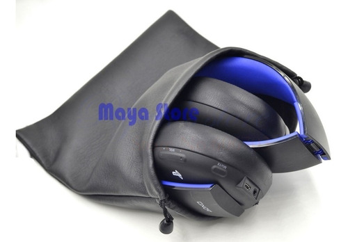 bag bolsa case para headset sony gold stereo ps3 ps3 ps vita