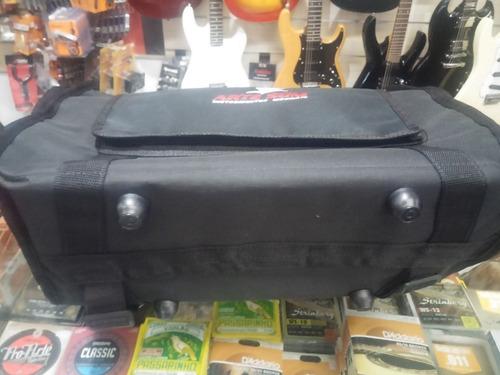 bag capa para acordeon 80 baixos reforçada mochila com bolso