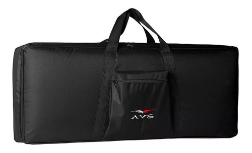 bag capa teclado luxo 5/8 acolchoado avs casio roland yamaha