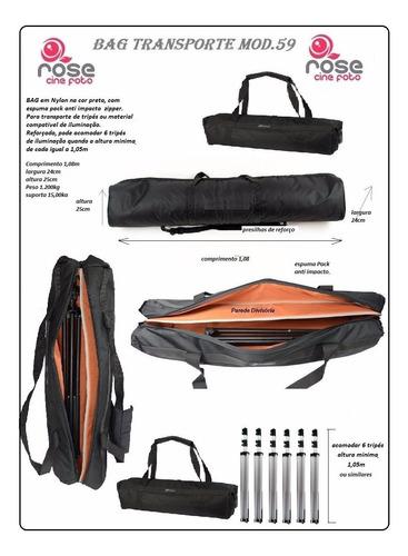 bag estojo 59 para tripés ou kit iluminação 1,10 metros