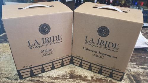 bag in box la iride 4750 cc caja x 4 unidades