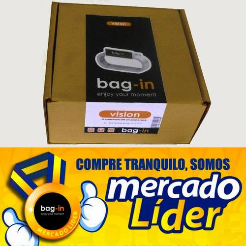 bag in: gancho para carteras - herraje patentado