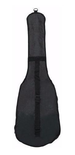 bag para guitarra rockbag eco line rb 20536 b / capa