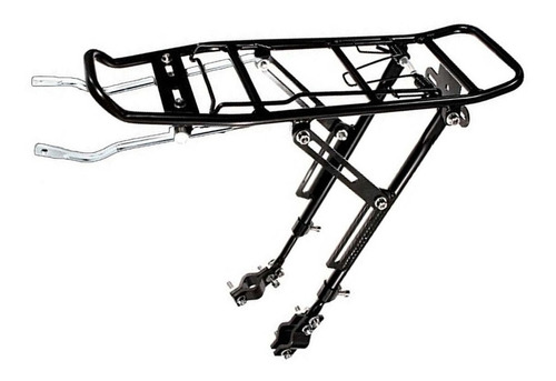 bagageiro alforge garupa traseiro bike regulavel hs 20 a 29