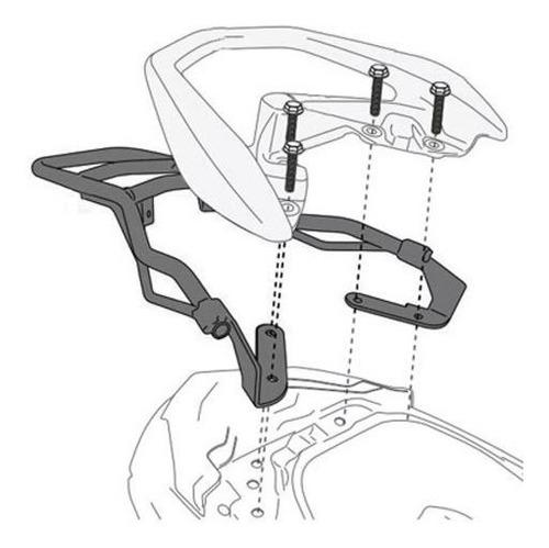 bagageiro bauleto givi n-max 160 sr2123